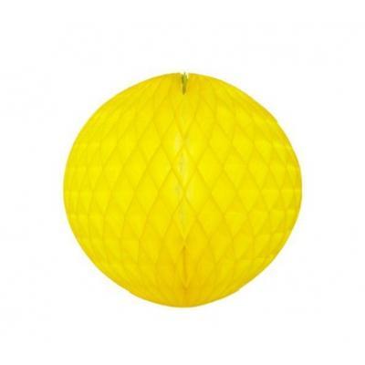 Colméia de Papel Amarelo Canário
