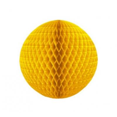 Colméia de Papel Amarelo Suave