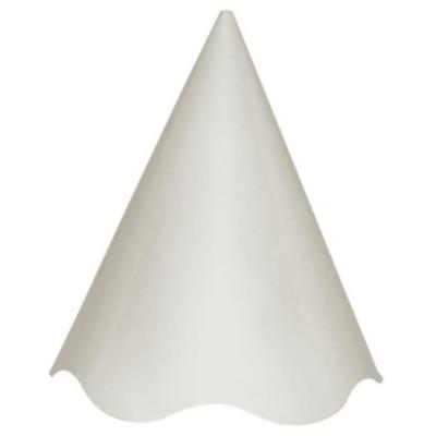 Chapéu de Festa Branco com pompom colorido
