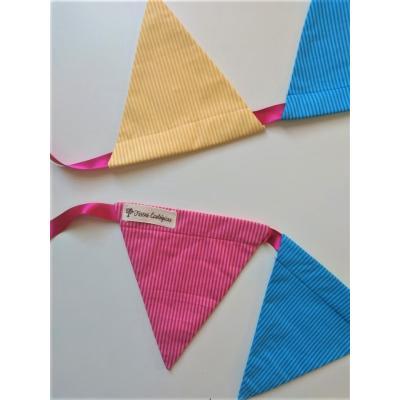Bandeirola Triangular Mix Listras