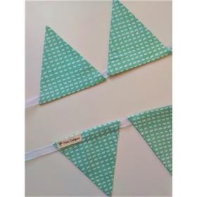 Bandeirola Triangular Vírgula Jade