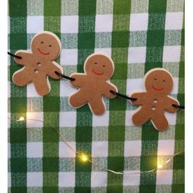 Bandeirola Gingerbread