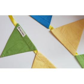 Bandeirola Triangular Listras