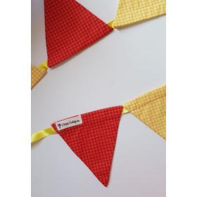 Bandeirola Triangular Xadrez