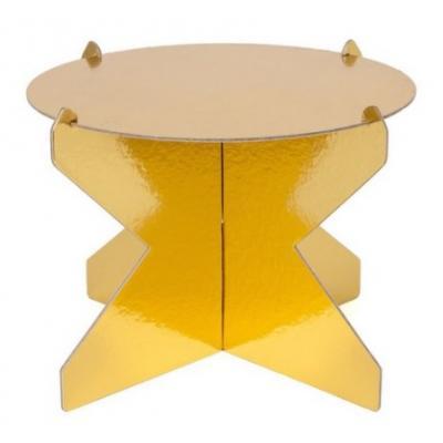 Boleira Dourada 26cm