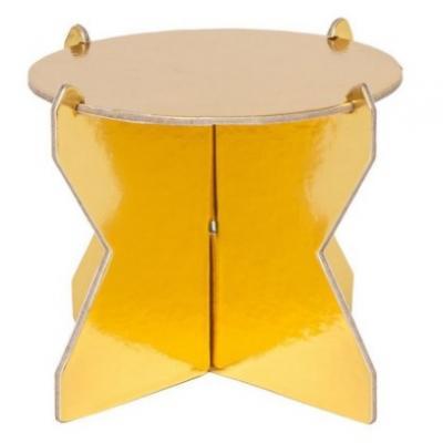Mini Boleira Dourada 12cm