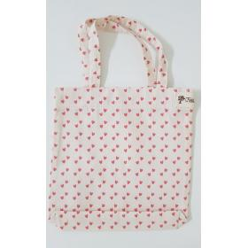 Ecobag Mini Corações Pink