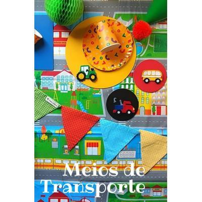 Kit Festa Meios de Transporte
