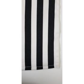 Toalha Listras Preto e Branco