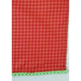 Toalha Xadrez Vermelha