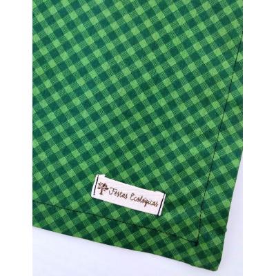 Toalha Xadrez Verde
