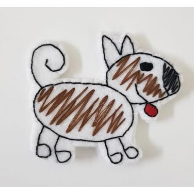 Topo de Bolo Família  Cachorro