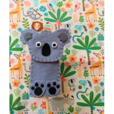 Topo de Bolo Dedoche Koala