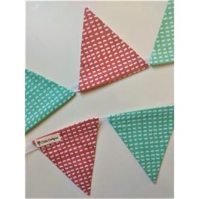 Bandeirola Triangular Vírgula Mescla